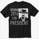 Breaking Bad Heisenberg For President 2016 Black T-Shirt