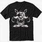 Foxy FNAF Five Nights at Horror Black T-Shirt
