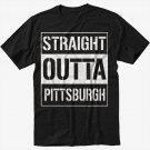 Straight Outta Pittsburgh Black T-Shirt