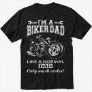 I'm A Biker Dad Funny Motorbike Men Black T-Shirt