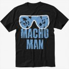 MACHO MAN SAVAGE RANDY FUNNY Men Black T-Shirt