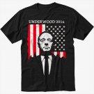 Underwood 2016 House of Campaign Men Black T-Shirt