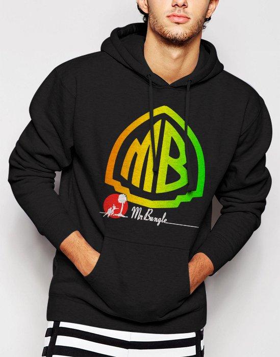 New Rare NEW Mr Bungle CD No Faith Volante Disco Men Black Hoodie Sweater
