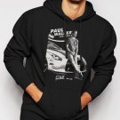New Rare Paul Walker, RIP, Fast And Furious, one last ride Men Black Hoodie Sweater