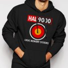 New Rare 2001 Space Odyssey HAL 9000 Men Black Hoodie Sweater