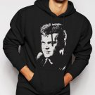 New Rare Conway Twitty Country Music Star Men Black Hoodie Sweater