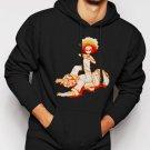 New Rare Huey Freeman The Boondocks Men Black Hoodie Sweater