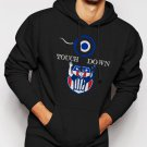 New Rare Touchdown Dad Football New Daddy Expecting Father Congratulations Men Black Hoodie Sweater