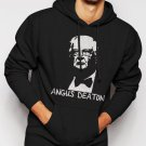 New Rare Angus Deaton Great Escape Men Black Hoodie Sweater