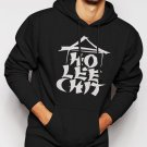 New Rare Ho Lee Chit Holy Funny Asian Buffet Men Black Hoodie Sweater