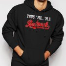 New Rare Trust Me I'm A Redneck Men Black Hoodie Sweater