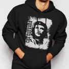 New Rare Che Guevara Retro Men Black Hoodie Sweater
