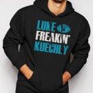 New Rare Luke Kuechly Carolina Panthers Funny number 59 Men Black Hoodie Sweater