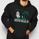 New Rare Revis Island Darrelle Revis New York Jets Cornerback Men Black Hoodie Sweater