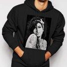 New Rare Amy Winehouse Jazz Music Camden Town Men Black Hoodie Sweater