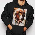 New Rare Bob Marley Rasta Reggae Music R&B Men Black Hoodie Sweater