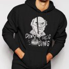 New Rare Breaking Bad Hector Salamanca Ding Men Black Hoodie Sweater