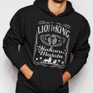 New Rare Hakuna Matata Lion King Inspired Men Black Hoodie Sweater