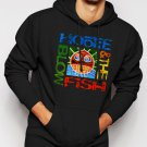New Rare Hootie and The Blowfish Cracked Rear View Rock Band Men Black Hoodie Sweater