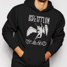 New Rare Led Zeppelin Legend Rock Band Men Black Hoodie Sweater