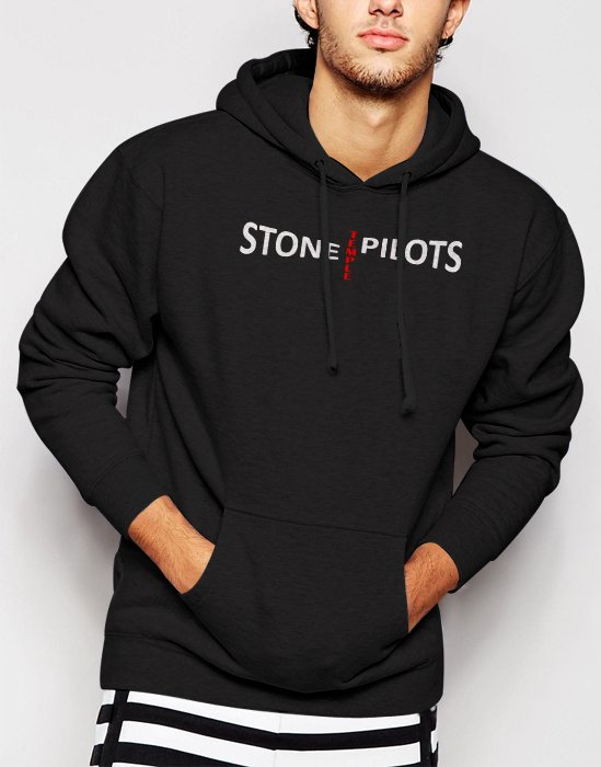 New Rare Stone Temple Pilots Rock Men Black Hoodie Sweater