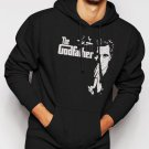 New Rare The Godfather Al Pacino Men Black Hoodie Sweater