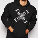 New Rare The XX Music Rock Cross Cool Funny Men Black Hoodie Sweater