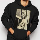 New Rare Billy Idol Men Black Hoodie Sweater