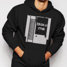 New Rare Blow Me Nintendo Cartridge Men Black Hoodie Sweater