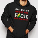 New Rare DRIVE FAST Funny JDM Soshinoya Men Black Hoodie Sweater