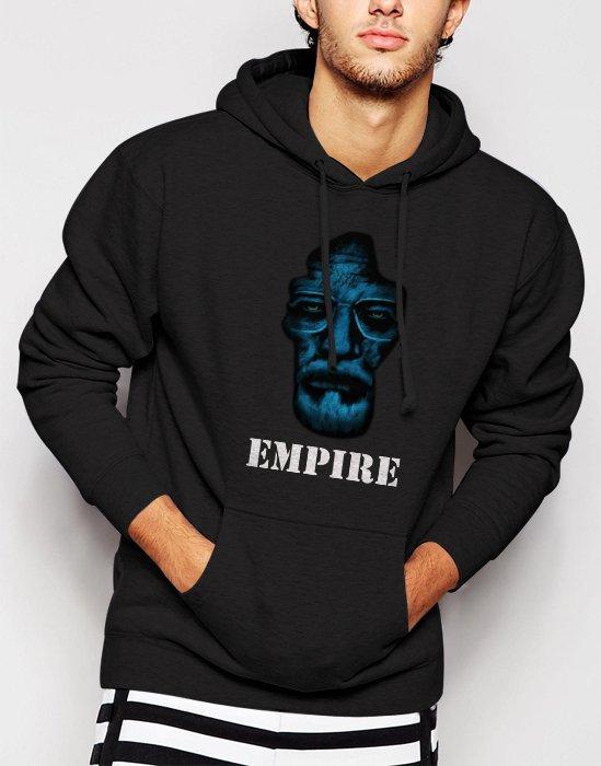 New Rare Heisenberg Empire Men Black Hoodie Sweater