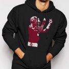 New Rare Johnny Manziel Manzieling Men Black Hoodie Sweater