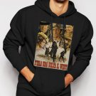 New Rare Once Upon A Time In The West - Custom Spaghetti Western Men Black Hoodie Sweater