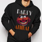 Animal Muppets Top Funny Humour Party Men Black Hoodie Sweater