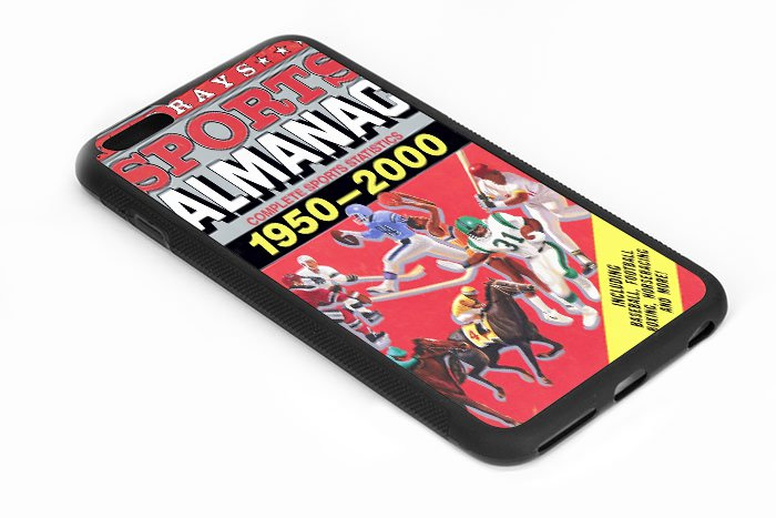 Back To The Future Almanac iPhone 6s 5.5 Inch Black Case