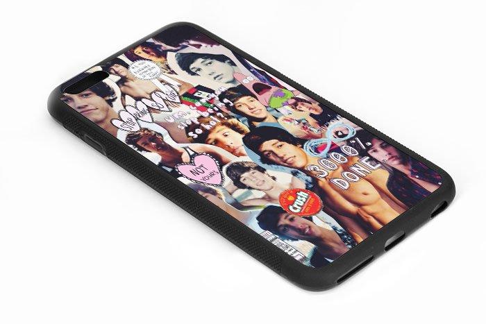 Cameron Dallas Collage Iphone 6s 5.5 Inch Black Case