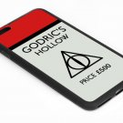 Harry Potter Monopoly Card Godrics Hollow Iphone 6s 5.5 Inch Black Case