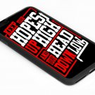 Keep Hopes High and Head Down Low Quote  Iphone 6s 5.5 Inch Black Case