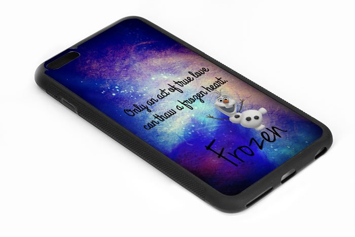 Olaf Quote the Disney Frozen Iphone 6s 5.5 Inch Black Case