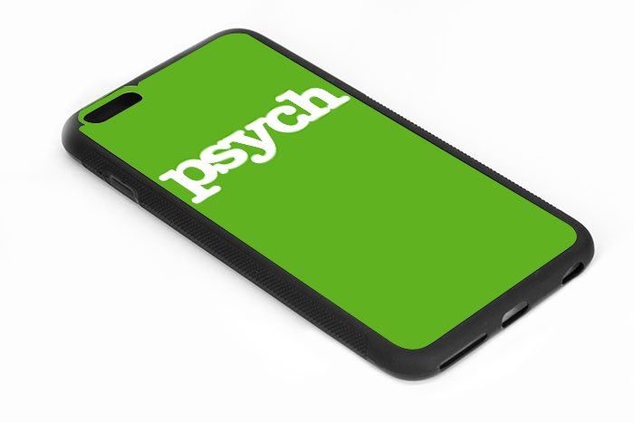Psych Logo Iphone 6s 5.5 Inch Black Case