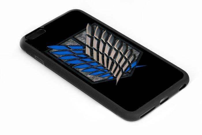 shingeki no kyojin, attack on titan Iphone 6s 5.5 Inch Black Case