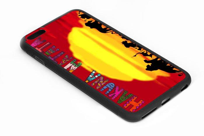 The Lion King Hakuna Matata Iphone 6s 5.5 Inch Black Case