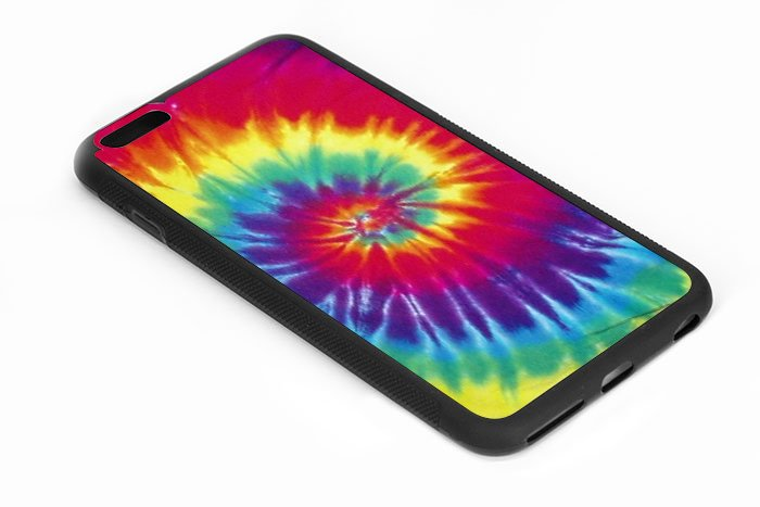 Tie Dye Rainbow Iphone 6s 5.5 Inch Black Case
