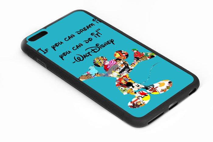 Walt disney Quote If U Dream It U Can Do It Iphone 6s 5.5 Inch Black Case