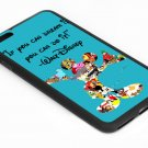 Walt disney Quote If U Dream It U Can Do It Iphone 6s 5.5 Inch Black Case