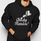 CHEEKY NANDOS FUNNY SOCIAL LIFE Men Black Hoodie
