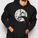 Nightmare Before Totoro Men Black Hoodie