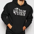 Team Stark Iron Man Civil War Movie Men Black Hoodie