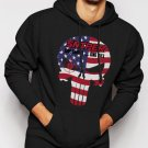 THE PUNISHER US AMERICAN SNIPER Men Black Hoodie