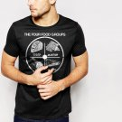New Hot Four Food Groups Mexican Black T-Shirt for Men